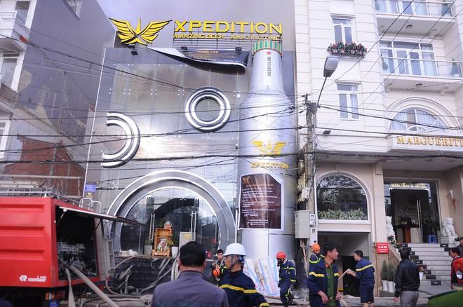 Cháy lớn tại beer club có dàn âm thanh giá 8 tỷ đồng ở trung tâm Đà Lạt - Ảnh 3.