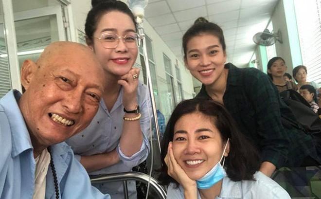 Cuộc gặp gỡ bất ngờ và xúc động giữa Mai Phương - nghệ sĩ Lê Bình