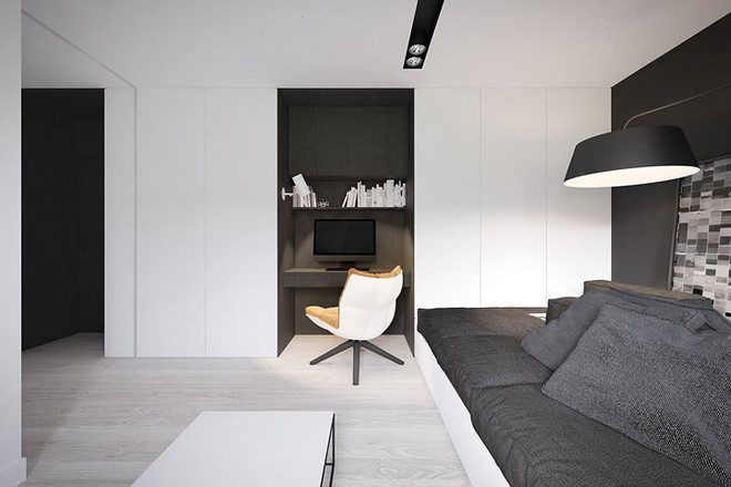 Cách bố trí nội thất hợp lý trong căn hộ 50m2 - Ảnh 3.