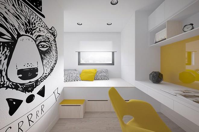 Cách bố trí nội thất hợp lý trong căn hộ 50m2 - Ảnh 7.
