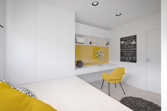 Cách bố trí nội thất hợp lý trong căn hộ 50m2 - Ảnh 8.