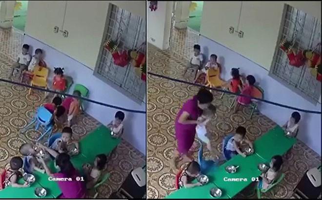 Cơ quan chức năng vào cuộc vụ nữ giáo viên nhồi nhét thức ăn, đánh bé trai 2 tuổi ở Hà Nội