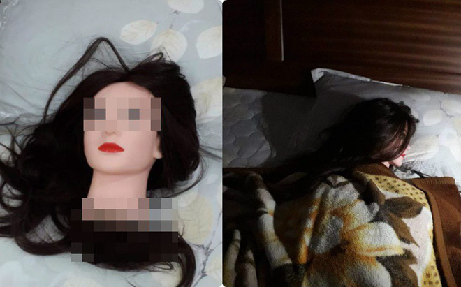 Lật mở tấm chăn, nhiều người hoảng hốt khi thấy vật thể lạ trên giường một cô gái