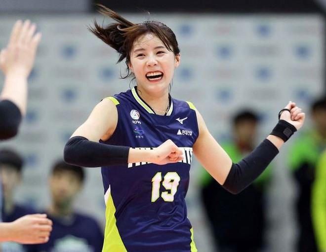 Ngắm nhan sắc của 'thiên thần' bóng chuyền Hàn Quốc - Ảnh 3.