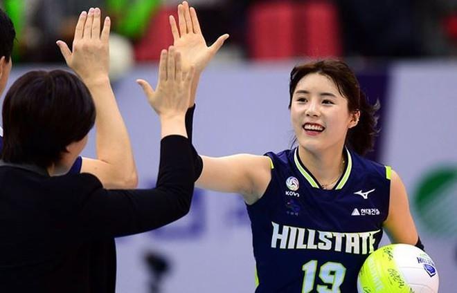 Ngắm nhan sắc của 'thiên thần' bóng chuyền Hàn Quốc - Ảnh 4.