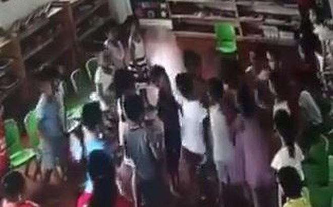 Thông tin bất ngờ về cô giáo mầm non để gần chục học sinh đánh hội đồng 1 bé trai ở Ninh Bình