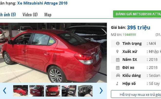 Giảm giá mạnh đón tháng cô hồn, chiếc ô tô này của Mitsubishi rơi về mốc 300 triệu