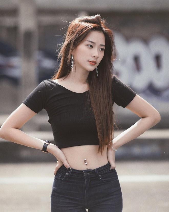 Hot girl Thái Lan sinh năm 1997 có gương mặt xinh xắn giống hệt Krystal (Fx) - Ảnh 6.