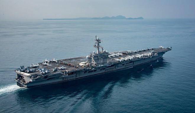 Mỹ dàn trận tàu sân bay, quần tụ về Thái Bình Dương, sẵn sàng tham chiến với Nga - Trung? - Ảnh 3.