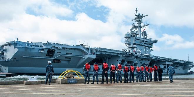 Mỹ dàn trận tàu sân bay, quần tụ về Thái Bình Dương, sẵn sàng tham chiến với Nga - Trung? - Ảnh 1.