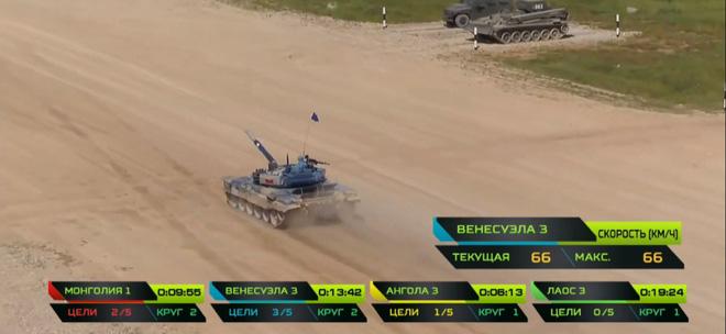 Chiếc xe lạ rình tóm xe tăng T-72B3 tại Tank Biathlon 2018 - Ảnh 1.