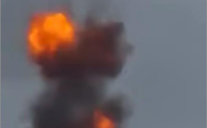 Cận cảnh máy bay không người lái bị bắn hạ trong vụ tấn công Tổng thống Venezuela