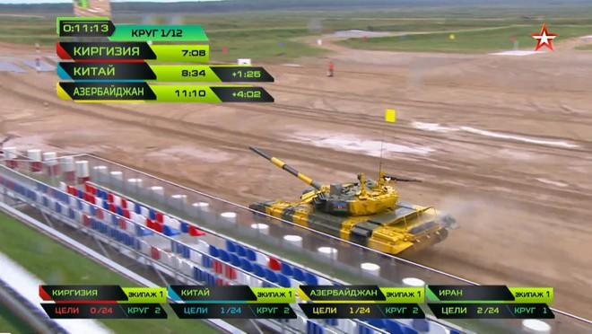 Bán kết Tank Biathlon 2018 - Xe tăng TQ gặp sự cố lăn đùng ra chết giữa đường đua! - Ảnh 12.
