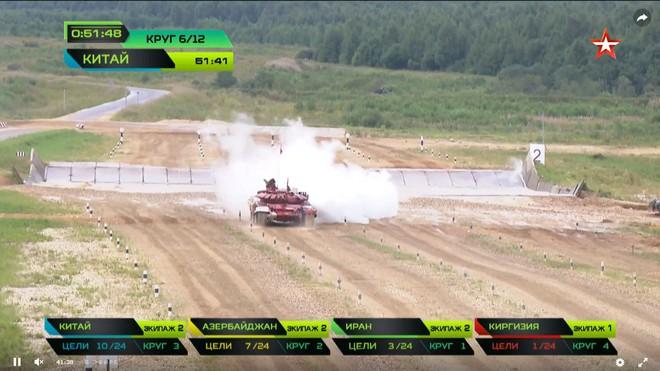 Bán kết Tank Biathlon 2018 - Xe tăng TQ gặp sự cố lăn đùng ra chết giữa đường đua! - Ảnh 35.