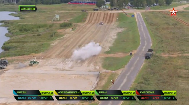 Bán kết Tank Biathlon 2018 - Xe tăng TQ gặp sự cố lăn đùng ra chết giữa đường đua! - Ảnh 39.