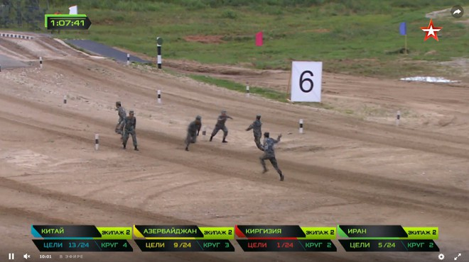 Bán kết Tank Biathlon 2018 - Xe tăng TQ gặp sự cố lăn đùng ra chết giữa đường đua! - Ảnh 43.