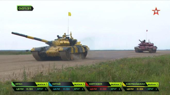 Bán kết Tank Biathlon 2018 - Xe tăng TQ gặp sự cố lăn đùng ra chết giữa đường đua! - Ảnh 8.