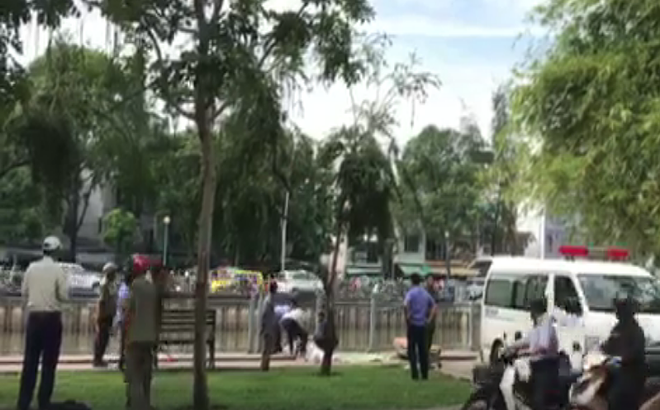 Phát hiện thi thể người đàn ông nổi trên kênh Nhiêu Lộc