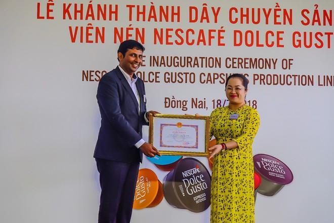 Nestlé nâng cao giá trị hạt cà phê Việt có dây chuyền sản xuất viên nén Nescafé Dolce Gusto - Ảnh 7.
