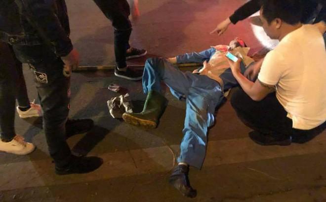Nghi vấn dân tổ lái Hà Nội đâm gãy chân nữ lao công rồi vứt xe bỏ chạy