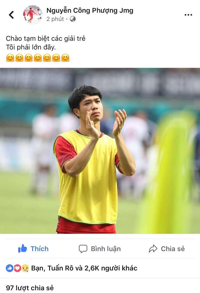 Công Phượng, Văn Toàn cùng nhiều cầu thủ nói lời tạm biệt U23 Việt Nam sau thất bại trước UAE - Ảnh 3.