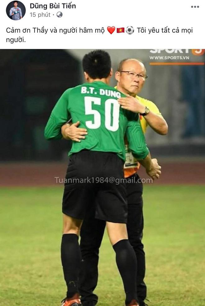 Công Phượng, Văn Toàn cùng nhiều cầu thủ nói lời tạm biệt U23 Việt Nam sau thất bại trước UAE - Ảnh 4.