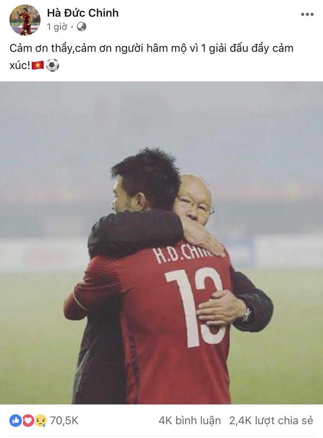 Công Phượng, Văn Toàn cùng nhiều cầu thủ nói lời tạm biệt U23 Việt Nam sau thất bại trước UAE - Ảnh 5.