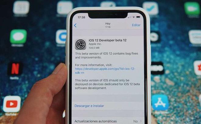 Apple phát hành iOS 12 Beta 12: Sửa lỗi thông báo cập nhật gây khó chịu trên bản Beta 11