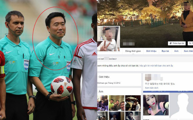 CĐV Việt Nam truy lùng facebook trọng tài, tìm nhầm người lại còn bình luận khiếm nhã