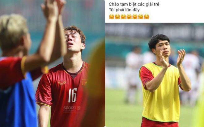 Công Phượng, Văn Toàn cùng nhiều cầu thủ nói lời tạm biệt U23 Việt Nam sau thất bại trước UAE