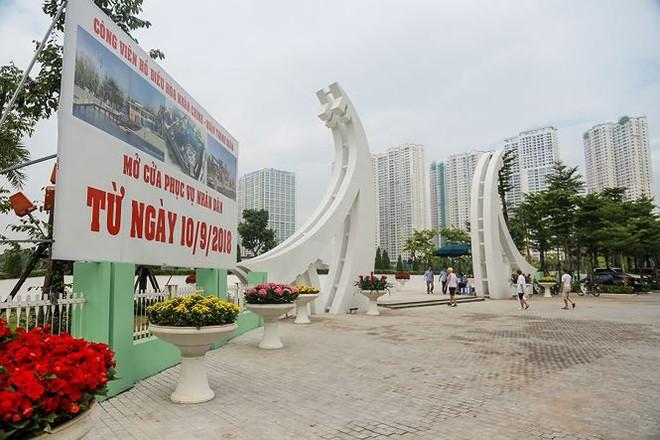 Công viên 300 tỷ chính thức vận hành sau 2 năm đắp chiếu - Ảnh 1.