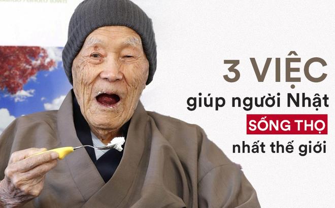 """Bí mật sống thọ của người Nhật: Chỉ cần làm 3 việc này, sức khỏe của bạn sẽ được """"đảm bảo"""""""