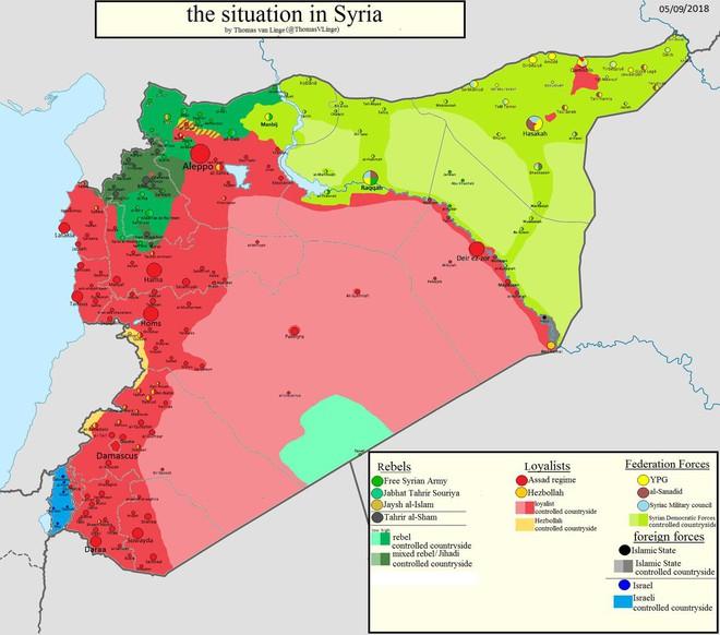 NÓNG: QĐ Syria giương đông kích tây, bất thần tấn công ở Deir Ezzor - Khủng bố sốc nặng - Ảnh 1.