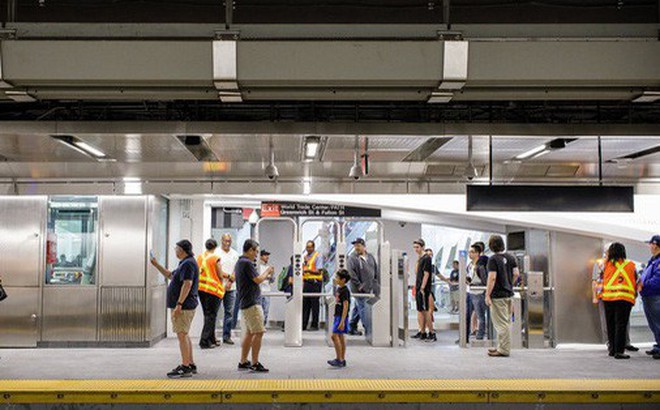 Mỹ mở lại nhà ga bị chôn vùi trong vụ 11-9