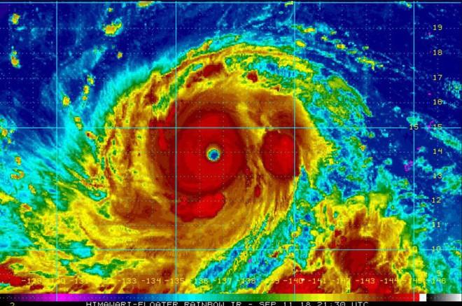 Bắc Bán Cầu xuất hiện 7 cơn bão, trong đó có siêu bão khiến 1,5 triệu người sơ tán! - Ảnh 1.