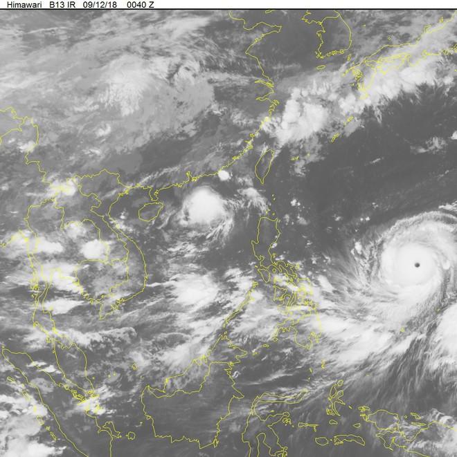 Bão số 5 tiến thẳng vùng biển Quảng Ninh - Nam Định, siêu bão Mangkhut nối gót vào biển Đông - Ảnh 2.