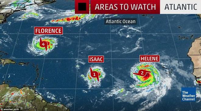 9 cơn bão cùng hoành hành Trái Đất: Siêu bão mạnh nhất có nguy cơ ảnh hưởng tới Việt Nam - Ảnh 2.
