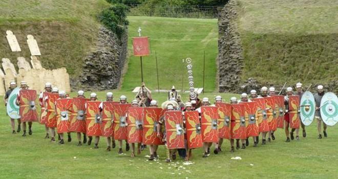 Ba kiểu dàn trận xuất sắc thời La Mã: Loại số 1 là sở trường của mãnh tướng Mark Antony - Ảnh 3.