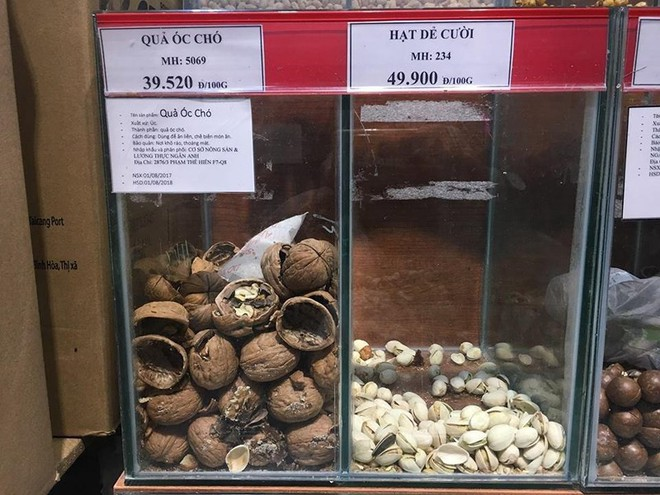 Siêu thị Auchan phân phối hạt khô chứa côn trùng - Ảnh 3.