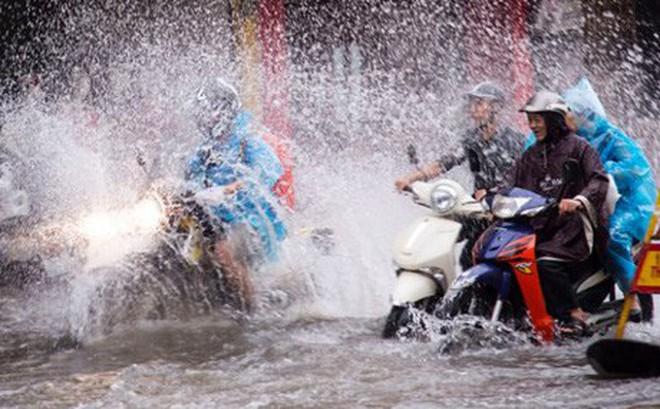 Thời tiết ngày 14/9: Bão số 5 gây mưa dông ở miền Bắc