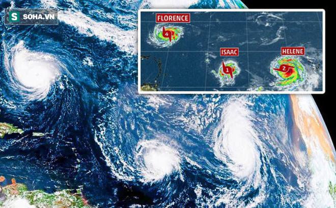Các nhà khoa học giải mã nguyên nhân xuất hiện 9 cơn bão cùng lúc trên khắp thế giới