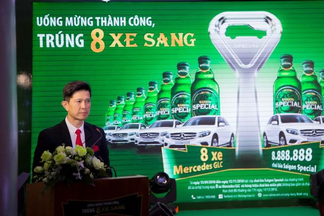 """Bia Saigon Special săn tìm chủ sở hửu của giải thưởng chương trình """"Uống mừng thành công, trúng tám xe sang"""" - Ảnh 3."""