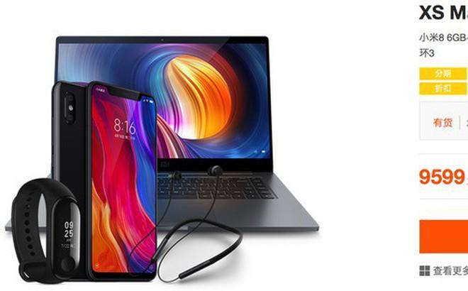 """Xỉa xói Apple, Xiaomi ra mắt combo sản phẩm """"XS Max"""", """"XS"""" và """"XR"""", giá ngang iPhone mới nhưng bao gồm cả điện thoại, laptop, Mi Band, tai nghe"""