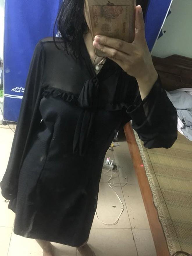 Chi 300k mua váy sang chảnh, đã phải nhận về chiếc giẻ lau cao cấp, cô gái còn bị cửa hàng chặn luôn Facebook - Ảnh 3.