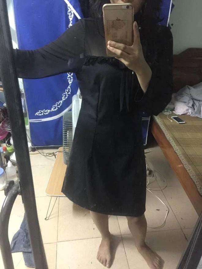 Chi 300k mua váy sang chảnh, đã phải nhận về chiếc giẻ lau cao cấp, cô gái còn bị cửa hàng chặn luôn Facebook - Ảnh 4.