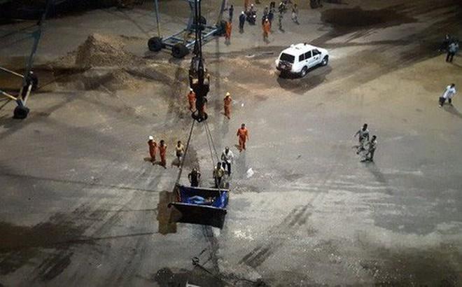 Hai công nhân tử vong bất thường khi làm việc trong hầm tàu