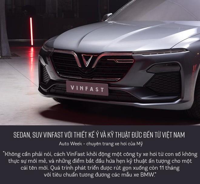 Báo quốc tế nói những gì về chiếc sedan và SUV của VinFast? - Ảnh 2.