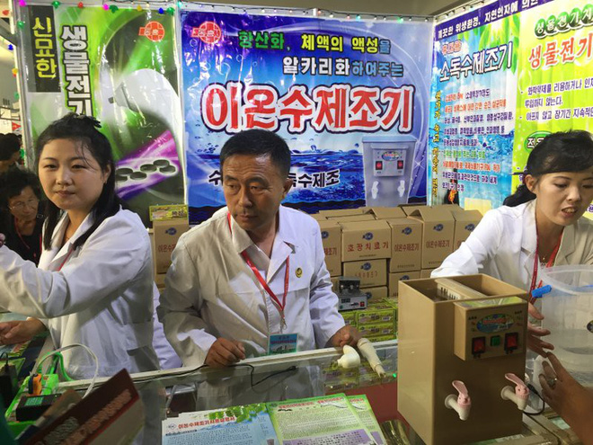 Hội chợ quốc tế Bình Nhưỡng: Nơi bức tranh Triều Tiên hiện lên rõ nét hơn bao giờ hết - Ảnh 1.