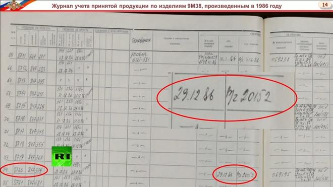Nga tuyên bố tên lửa BUK bắn hạ MH17 sản xuất năm 1986, thuộc sở hữu của Ukraine - Ảnh 1.