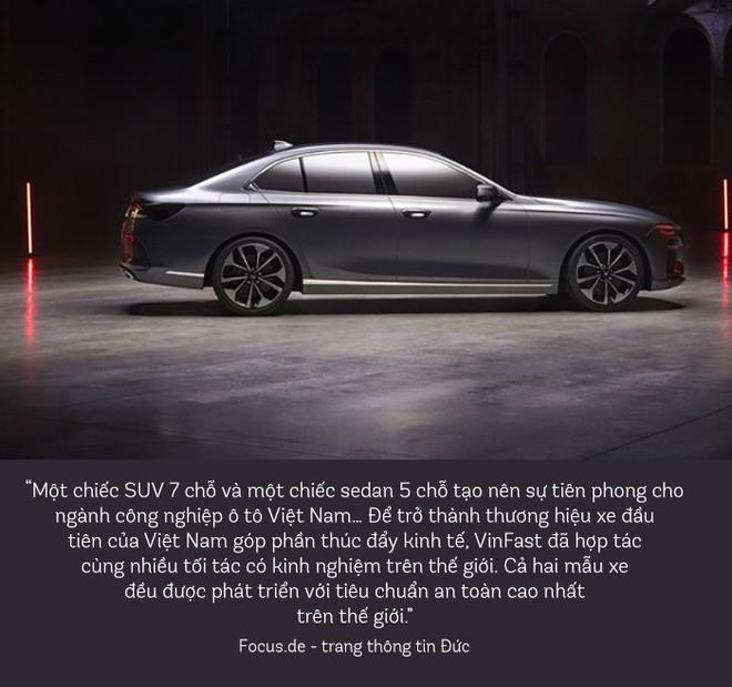 Báo quốc tế nói những gì về chiếc sedan và SUV của VinFast? - Ảnh 6.